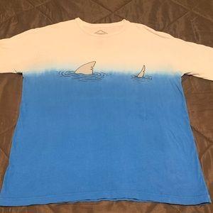 Urban Outfitters/ALTRU shark t-shirt- Size XL